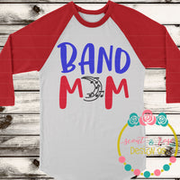 Band Mom SVG DXF PNG