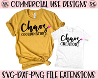 Chaos Coordinator/Chaos Creator SVG DXF PNG (2019)