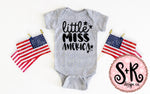 Little Miss America SVG DXF PNG (2019)