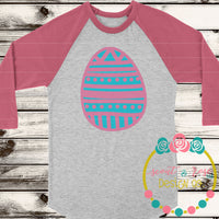 HD Easter Egg SVG DXF PNG