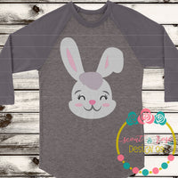 Bunny Head SVG DXF PNG