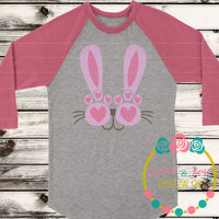 Peekaboo Bunny SVG DXF PNG