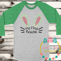My First Easter SVG DXF PNG