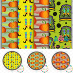 Halloween Printable DESIGNER Clip Art/Paper Digital Set