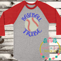 Baseball Tribe SVG DXF PNG