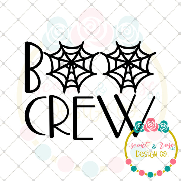 Boo Crew SVG DXF PNG