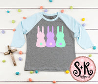 Bunny Peeps SVG DXF PNG