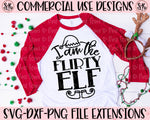 Flirty Elf SVG DXF PNG (2019)