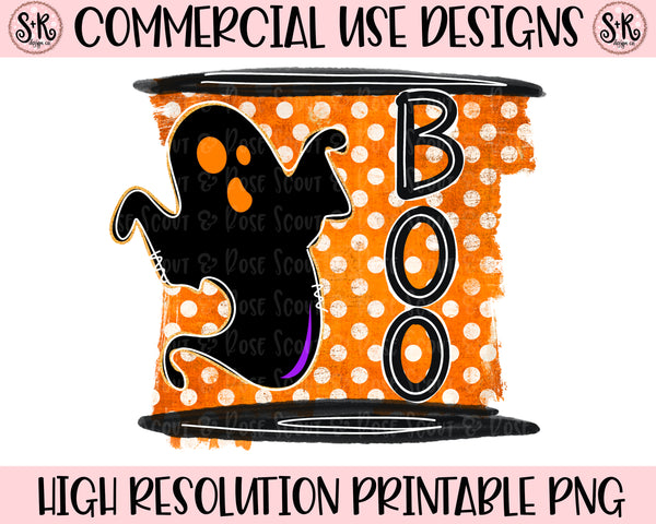Boo Ghost Printable Design (2020)
