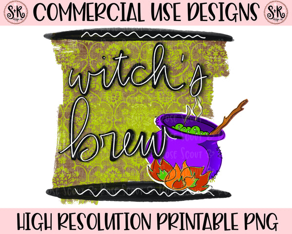 Witch's Brew Printable Design (2020)