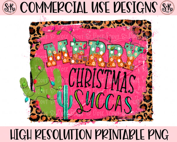 Merry Christmas Succas Printable Design (2019)