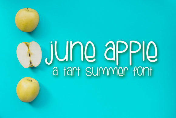 June Apple VIP Font