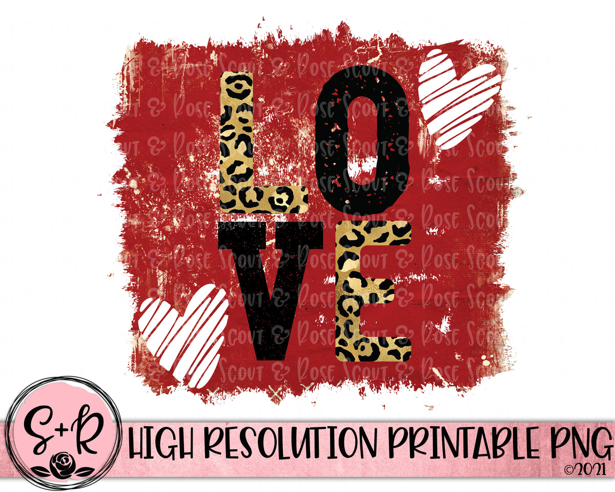 LOVE Printable Design (2021) - Scout and Rose Design Co