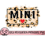 Mini Leopard Printable Design (2021)
