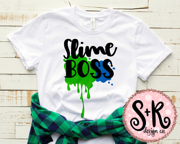 Slime Boss SVG DXF PNG (2019)