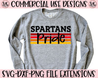 Spartans Pride SVG DXF PNG (2020)