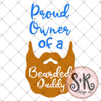 FREE Bearded Daddy SVG DXF PNG