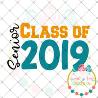 FREE SVG Class of 2019 SVG DXF PNG