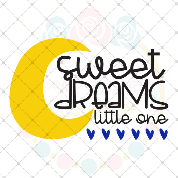 Sweet Dreams SVG DXF PNG