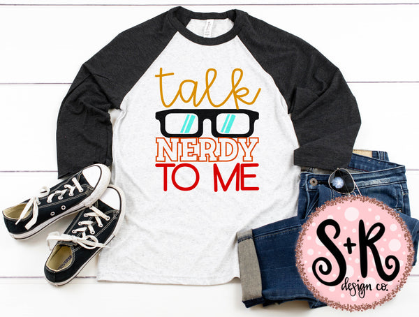 Talk Nerdy To Me SVG DXF PNG (2019)