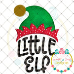 Little Elf Sublimation Design