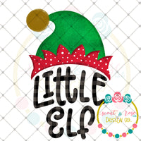 Little Elf Printable Design