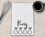 Pears Tea Towel Design Cut File