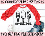 Americool SVG DXF PNG (2020)