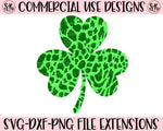 Animal Print Shamrock SVG DXF PNG (2020)