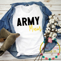Army Mum SVG DXF PNG (2019)