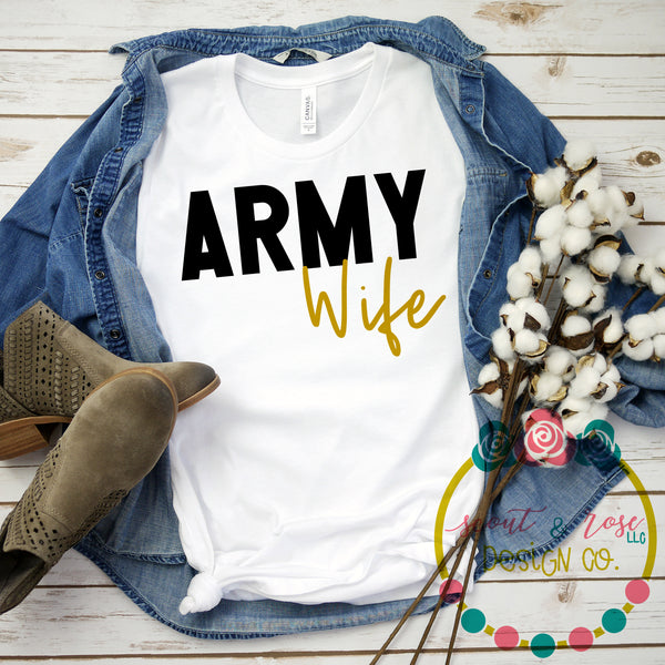 Army Wife SVG DXF PNG (2019)