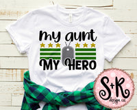 My Aunt My Hero SVG DXF PNG (2019)