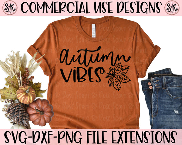Autumn Vibes SVG DXF PNG (2020)