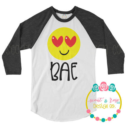 Bae Emoji Heart Eyes SVG DXF PNG