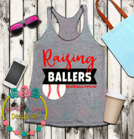 Baseball Mom Baller SVG DXF PNG