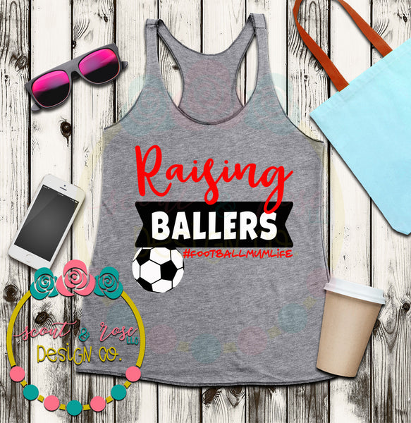 Football Mum Baller SVG DXF PNG