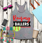Softball Mom Baller SVG DXF PNG