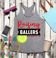 Tennis Mom Baller SVG DXF PNG
