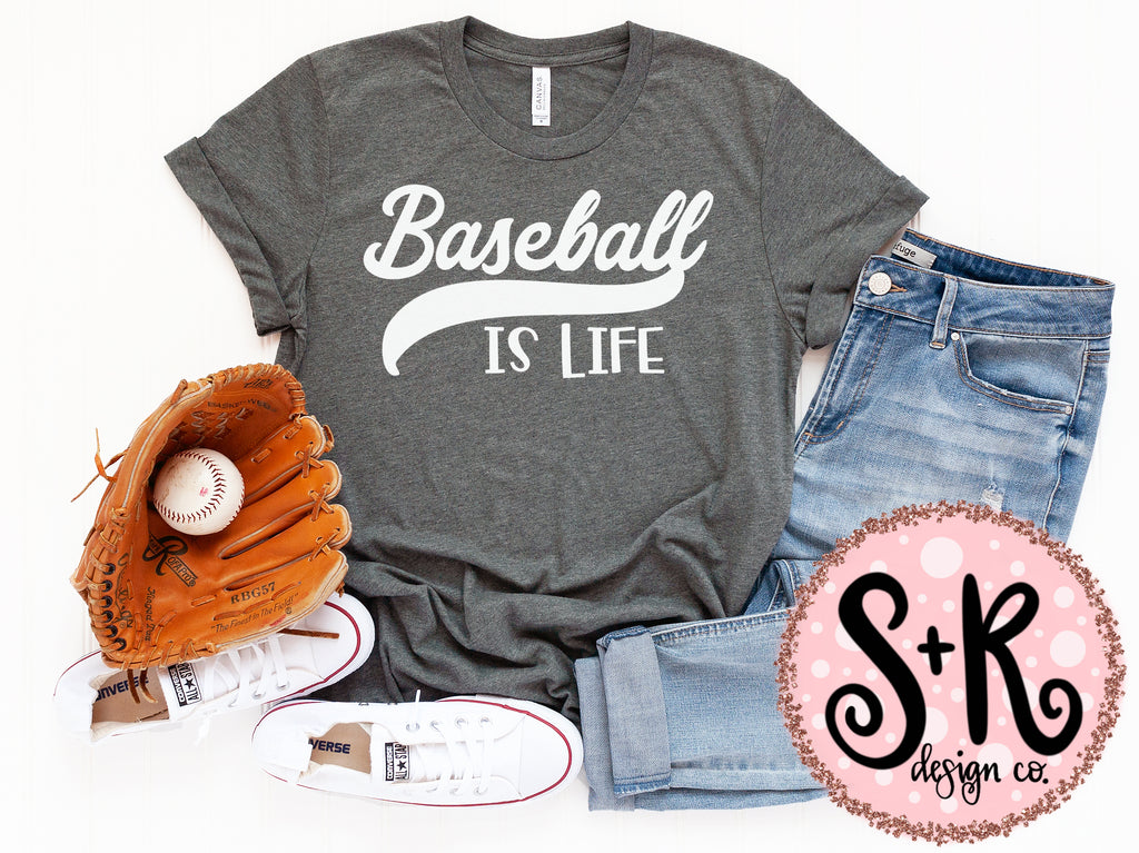 Baseball is Life SVG DXF PNG (2019)