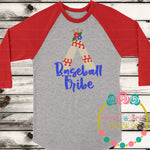 Baseball Tribe Teepee SVG DXF PNG