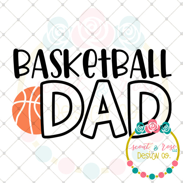 Basketball Dad SVG DXF PNG