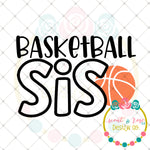 Basketball Sis SVG DXF PNG