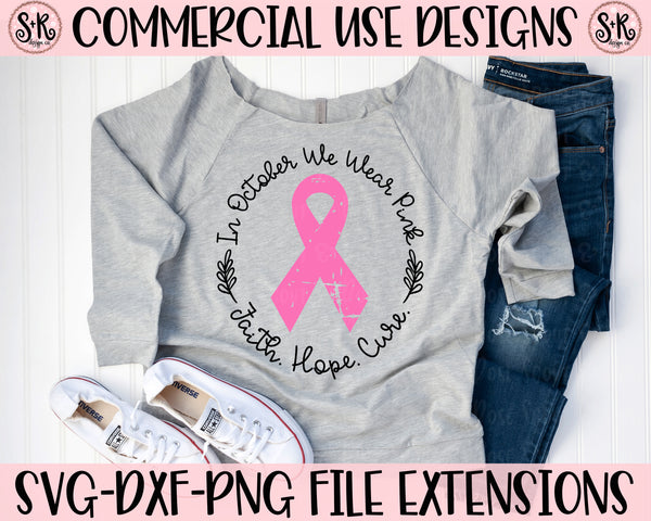 Breast Cancer Awareness SVG DXF PNG (2019)