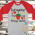 Berry Sweet SVG DXF PNG