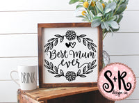 Best Mum Ever SVG DXF PNG (2019)