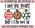 I Like Big Bulbs Printable Design (2019)