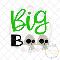 Big Boo SVG DXF PNG