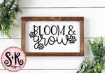 Bloom & Grow SVG DXF PNG (2019)