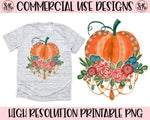 Boho Pumpkin Printable Design (2019)