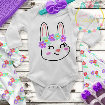 Bunny Cut File SVG DXF PNG